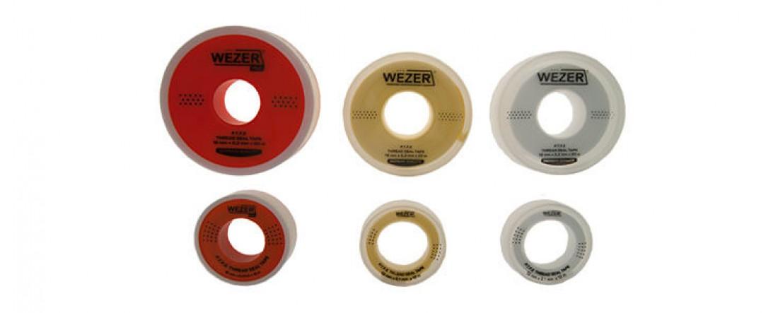 Фум-лента для воды и газа Wezer Новинка