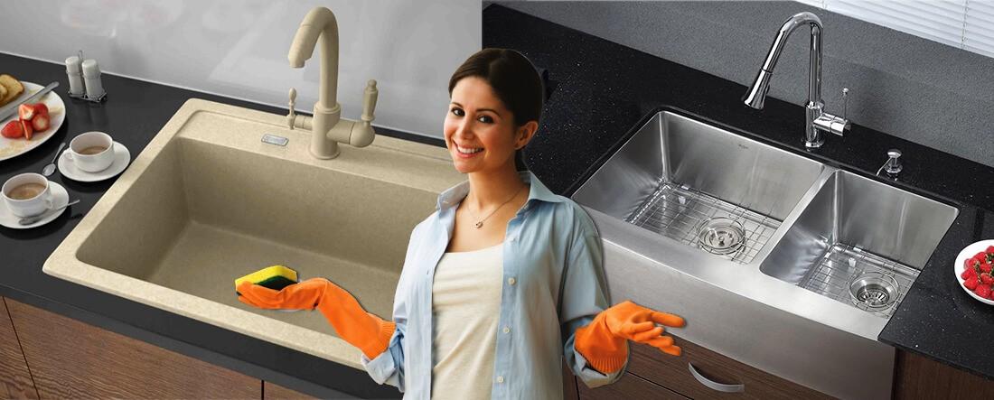 Как ухаживать за мойкой для кухни