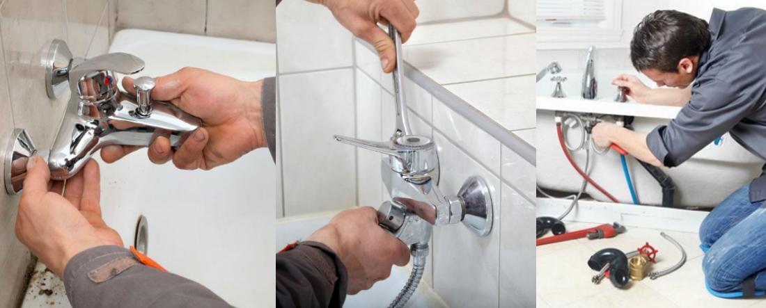 Ремонт смесителя для ванны с душем - Как починить смеситель в ванной?