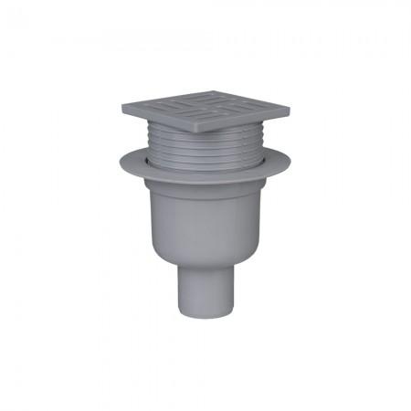 Трап с пластиковой решеткой 50/180° АНИ-пласт TA5704