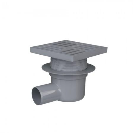 Трап с пластиковой решеткой 50/90° АНИ-пласт TA5610