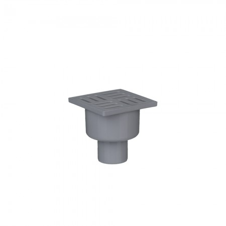 Трап с пластиковой решеткой 50/180° АНИ-пласт TA5204