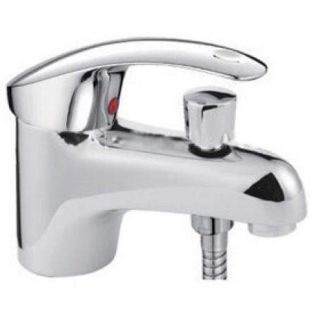 Смеситель для умывальника с гигиеническим душем Frap H21 F1221
