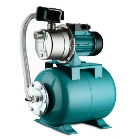 Станция водоснабжения Aquatica центробежная, самовсасывающая 776213. 0.8кВт Hmax 40м Qmax 60л/мин (насос нержавейка) 24л.