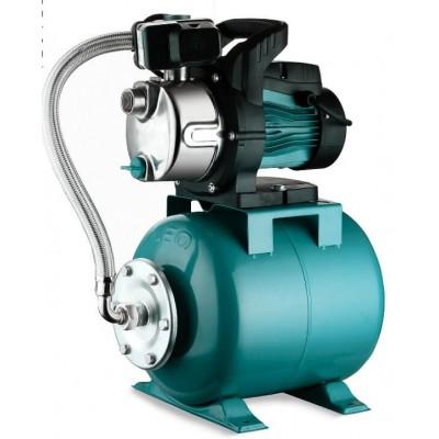 Станция водоснабжения Aquatica центробежная, самовсасывающая 776252. 0.8кВт Hmax 40м Qmax 60л/мин (насос нержавейка) 24л.