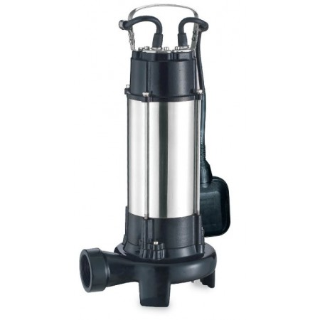Насос Aquatica канализационный 773334. 1.8кВт Hmax 10м Qmax 400л/мин (с ножом).