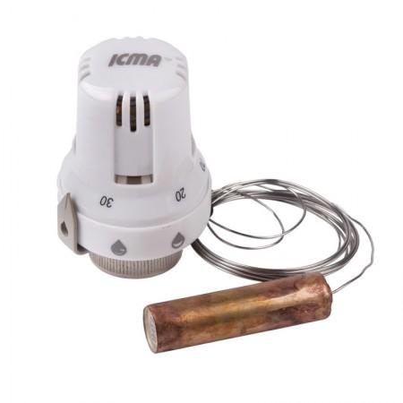 Термоголовка с выносным датчиком 30х1,5 (20-70°С) Icma №995