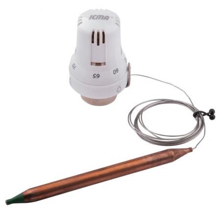 Термоголовка с выносным датчиком 30х1,5 (60-90°С) Icma №997