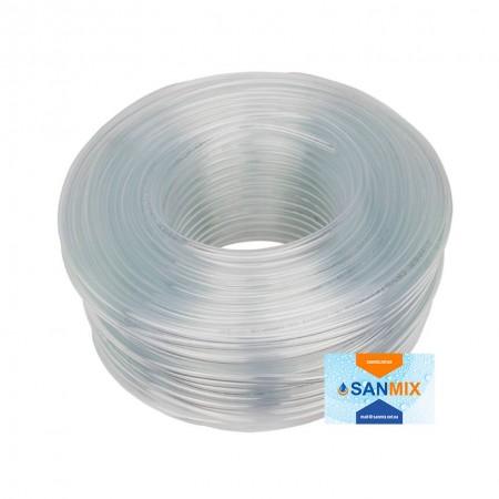 Шланг ПВХ прозрачный пищевой Symmer SC crystal 4 мм 200 м
