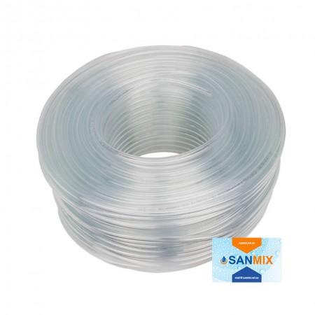 Шланг ПВХ пищевой прозрачный Symmer SC crystal 5 мм 100 м