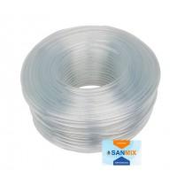 Шланг ПВХ пищевой прозрачный Symmer SC crystal 7х1 мм 100 м