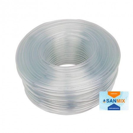 Шланг ПВХ прозрачный пищевой Symmer SC crystal 7х2,5 мм 100 м