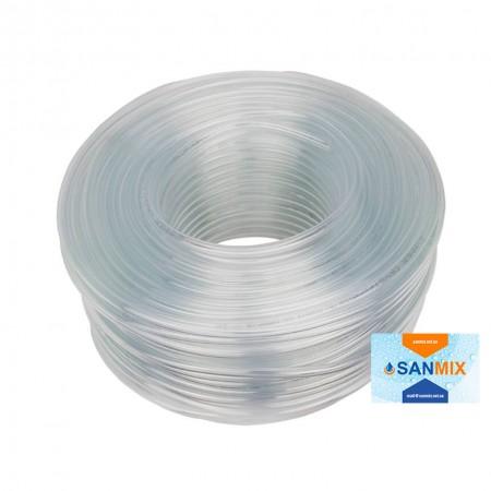 Шланг ПВХ пищевой прозрачный Symmer SC crystal 8х1 мм 100 м