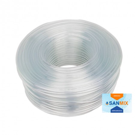 Шланг ПВХ прозрачный пищевой Symmer SC crystal 8х1,3 мм 100 м