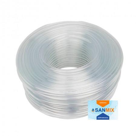 Шланг ПВХ прозрачный пищевой Symmer SC crystal 14 мм 50 м
