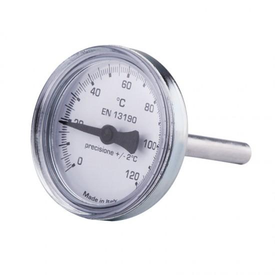 Термометр 0-120C для антикондиционного клапана Icma No134