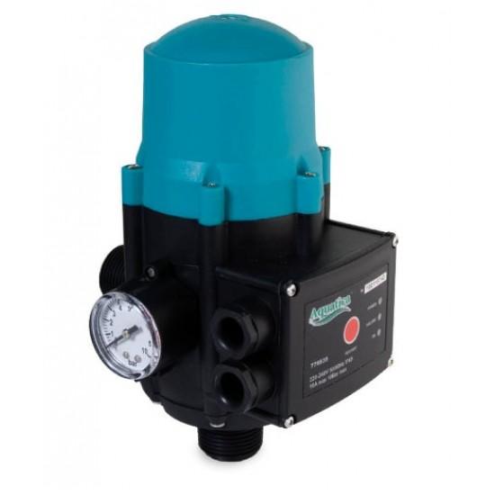 """Контроллер давления Aquatica 779534. 1.1кВт Ø1"""" авто-поиск воды + регулятор давления включает 1.5-3.0 bar."""