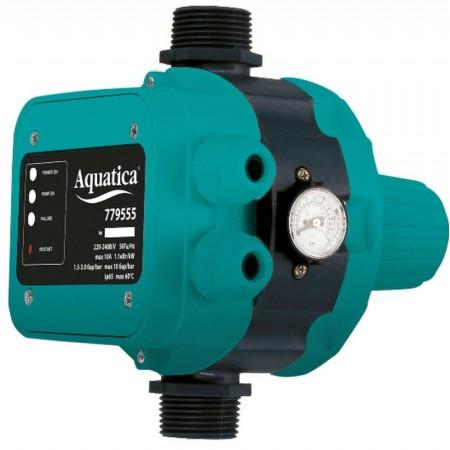 """Контроллер давления Aquatica 779555. 1.1кВт Ø1""""."""