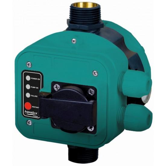 """Контроллер давления Aquatica 779556. 1.1кВт Ø1"""" + розетка."""