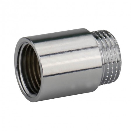 """Латунный хромированный удлинитель 1/2"""" 20 мм KARRO"""