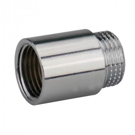 """Латунный хромированный удлинитель 1/2"""" 100 мм KARRO"""