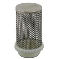"""Клапан Aquatica 779639. Фильтр донный к обратному клапану 1"""" (нержавеющая сталь)."""