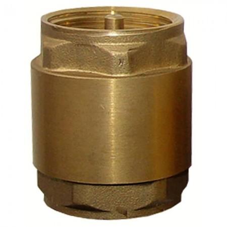 """Клапан Aquatica 779644. Клапан обратный 1""""Fx1""""F (латунь)."""