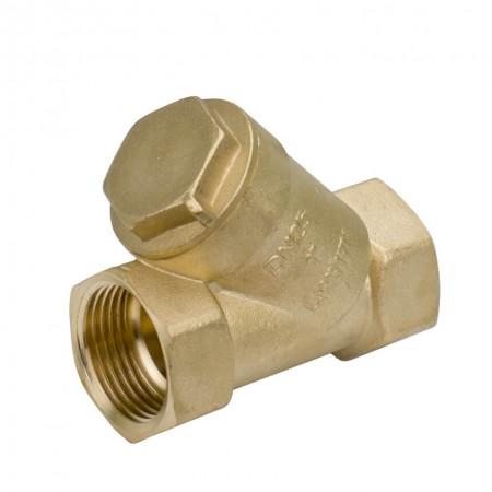 Латунный фильтр трубой очистки Wezer 1 дюйм