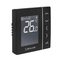 Термостат цифровой Salus VS35B с экраном LCD 230 В черный