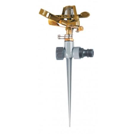 Дождеватель импульсный на металлическом колышке Flora (5013224)