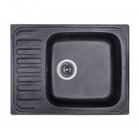 Fosto Кухонная мойка 64x49 SGA-420 (черный)