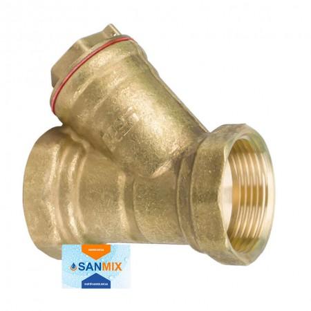 Латунный фильтр грубой очистки воды 1 1/2 дюйма STA сетчатый