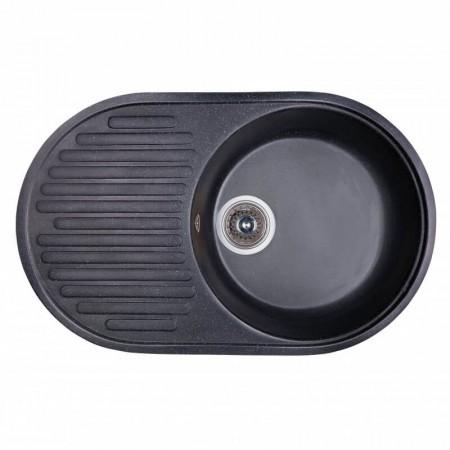 Fosto Кухонная мойка 74x46 SGA-420 (черный)