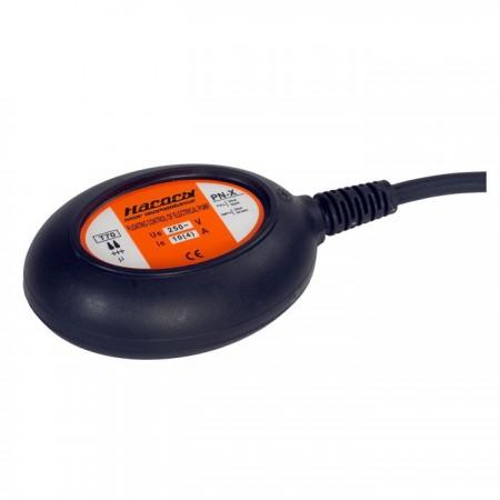 Выключатель поплавковый PN-X (кабель 5м. 3х1мм2, грузило, 16А)