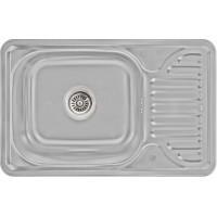 Кухонная мойка Lidz 6642 Micro Decor 0,8 мм (LIDZ664208MICDEC)