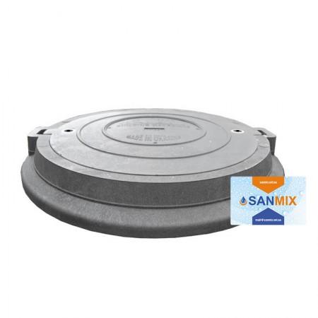 Канализационный люк круглый 8 тонн 780 мм Ruslana