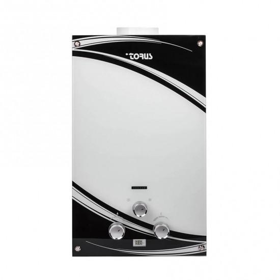 Газовая колонка TORUS JSD20-EGB белое стекло