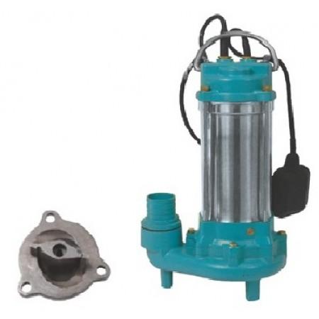 Насос Aquatica канализационный 773433, 1,1 кВт Hmax 15 м Qmax 300 л/мин с ножом (нержавейка)