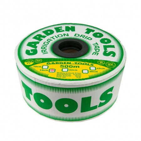 Щелевая капельная лента Garden Tools 20 см 1000 м 8 mil