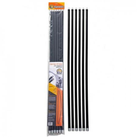 Комплект ручек гибких для чистки дымохода Savent 1 м
