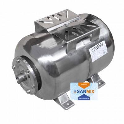 Гидроаккумулятор нержавейка Forwater PTH24SS горизонтальный