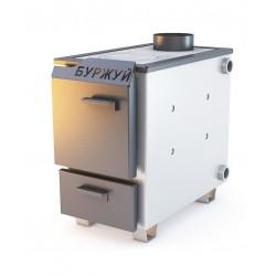 Котел Буржуй КП-10 кВт с чугунной плитой