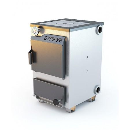 Котел Буржуй КП-12 кВт с чугунной плитой