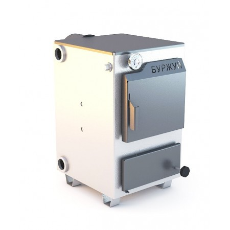 Котел Буржуй КП-15 кВт без чугунной плитки