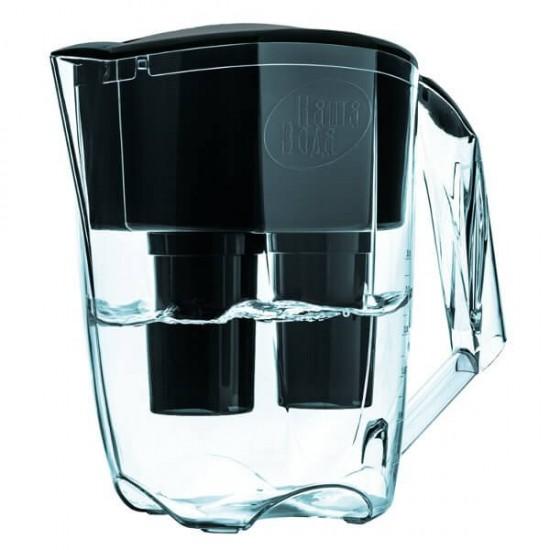 Фильтр-кувшин Наша вода DUO черный