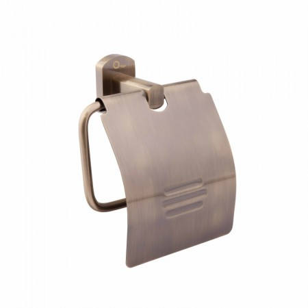 Держатель туалетной бумаги с крышкой QT Liberty ANT 1151