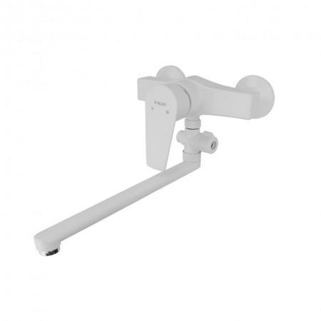 Смеситель для ванны SLAT SLT-B006(W) пластиковый