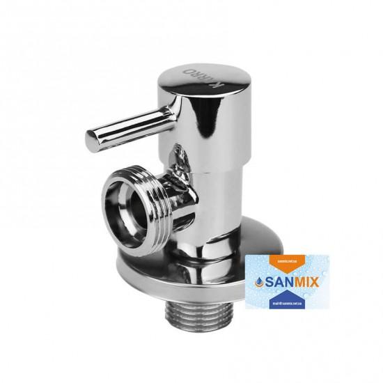 Кран приборный угловой 1/2*3/4 с керамическим картриджем KARRO KR13003-3110