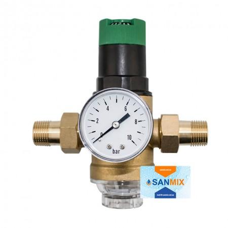 Фильтр грубой очистки с редуктором регулировки давления 1/2 KARRO mini