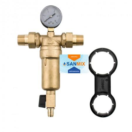 Фильтр самоочищающийся для горячей воды 3/4 KARRO Super KR88043